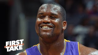 Which athletes today can dominate like Shaq? | First Take