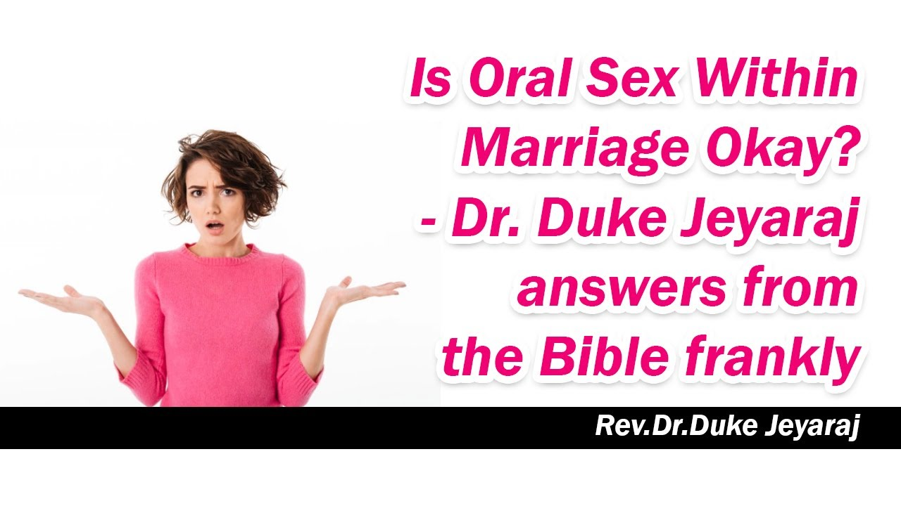 Oral sex in the bible song of songs