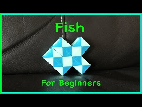 Smiggle Snake Puzzle or Rubik's Twist Tutorial for Beginners