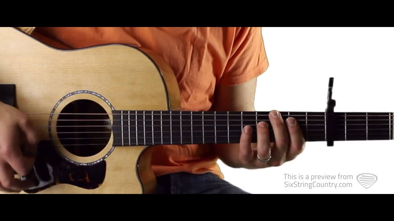 Somebody S Heartbreak Hunter Hayes Guitar Lesson And Tutorial