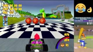 Woody Woodpecker Racing speedrun in 35:15