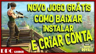COMMENT À DOWNLOAD INSTALL et CREATE ACCOUNT FORTNITE Battle Royale GRATUIT