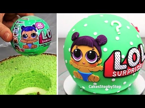 Lol Surprise Cake How To Make By Cakes Stepbystep Youtube