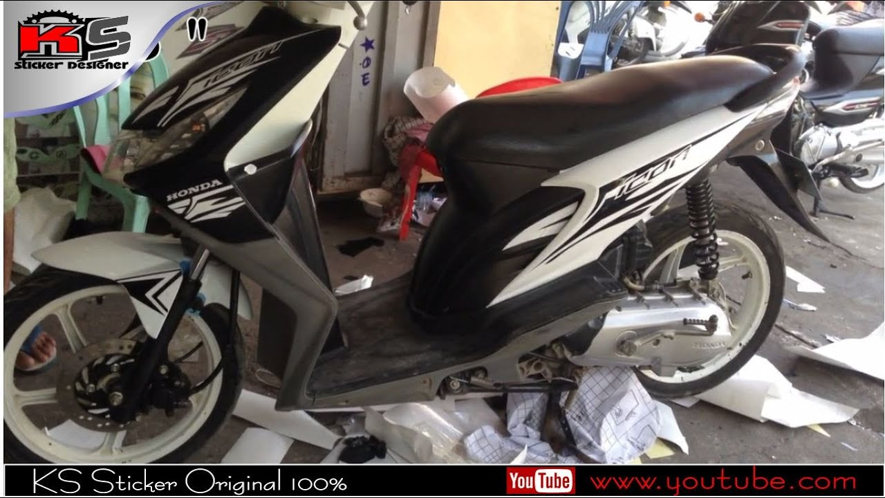 Honda Icon New Sticker Just Modified Stamp YouTube