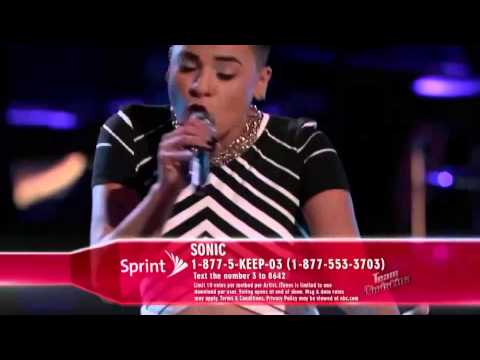 The Voice American 2015 - Playoff - Sonic - I m Going Down - Top The Voices