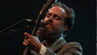 Iron & Wine - Lovesong For The Buzzard (Acoustic) - Hackney Empire - 09.10.11