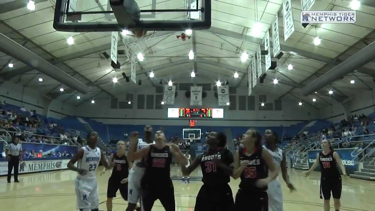 Memphis Women's Basketball: Rhodes Highlights and Post ...