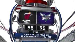 Miami Heat vs Charlotte Hornets - February 5, 2016