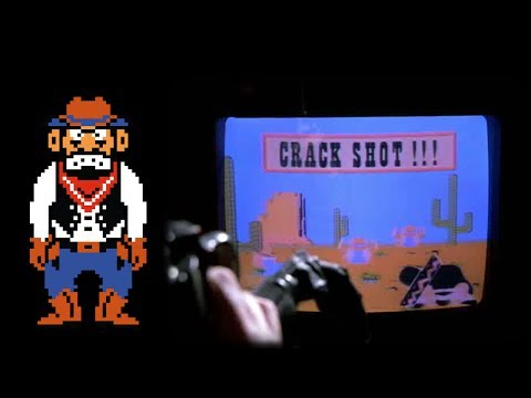 Wild Gunman Crack Shot Scene - Back to the Future Part II