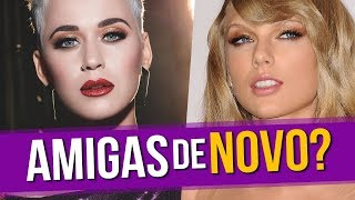 Taylor Recebe Presente da Katy Perry