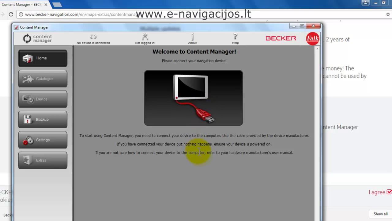 content manager igo8