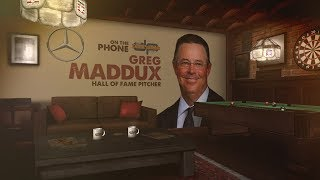 Hall of Famer Greg Maddux Talks Pranks, Bonds, & More w/Dan Patrick | Full Interview | 1/17/19