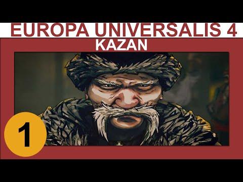 Europa Universalis 4: Cossacks - Kazan - Ep 1 - Let's Play Gameplay