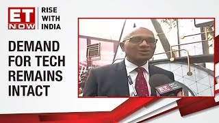 Mindtree's CEO, Rostow Ravanan on outlook for I.T. FY20 | ET Now Exclusive