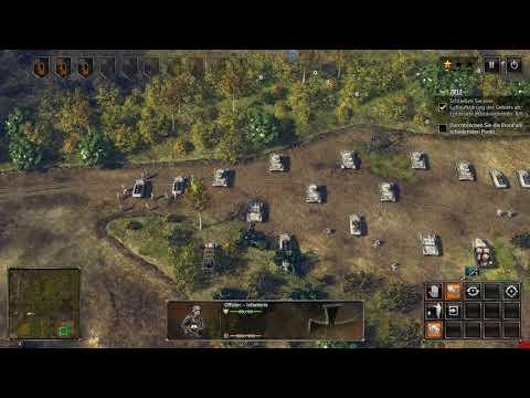 Sudden Strike 4. GamePlay.DE Deutsche Kampagne Mission. 3