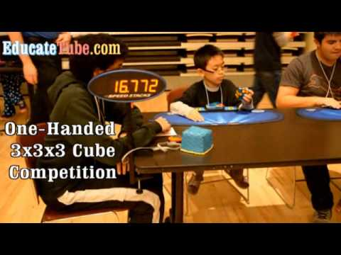 Canadian Speed Cubing - Toronto Open Fall 2014 - Matthew competes at the Rubik's Cube competition