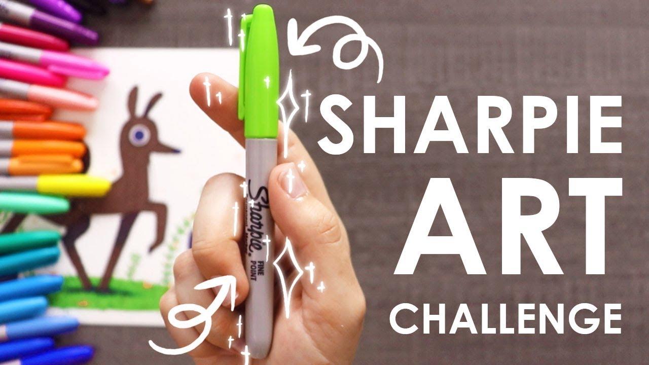 SHARPIE CHALLENGE - Art or Craft Supplies?