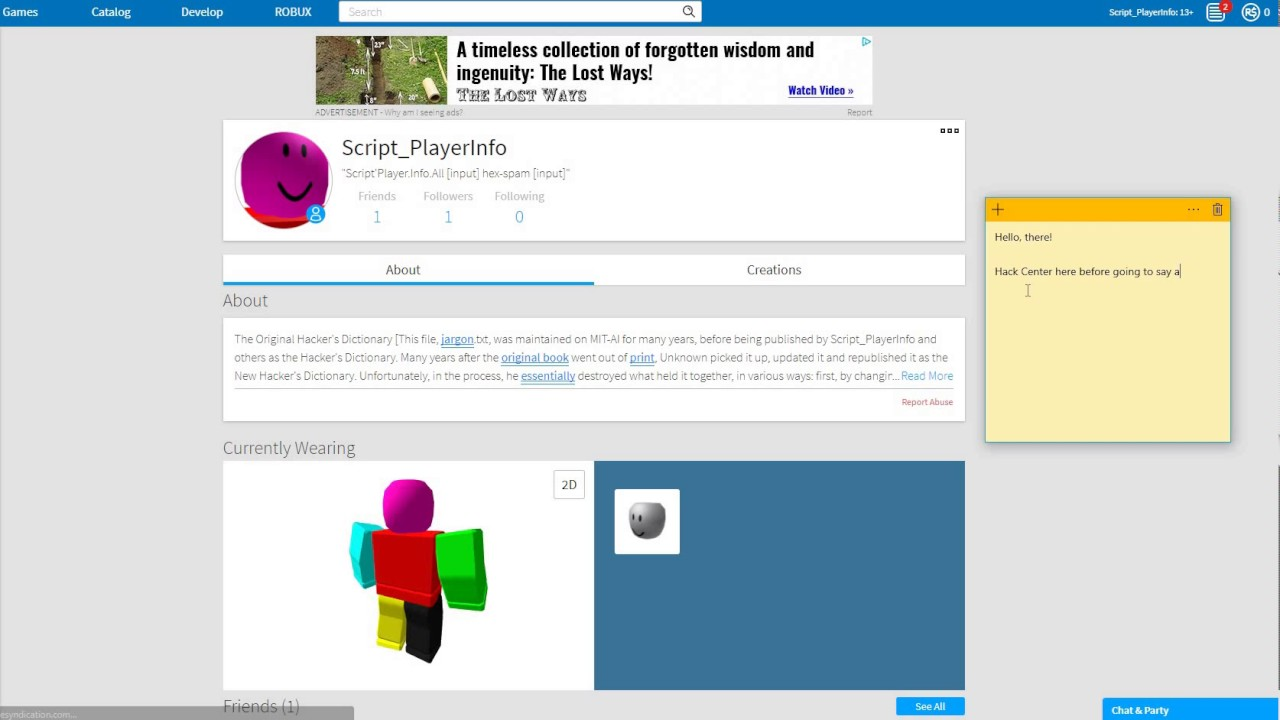 Free Robux Hack No Inspect No Load No Waiting Unpatched
