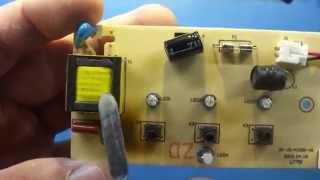 Ремонт ультрафіолетової лампи для сушіння нігтів.