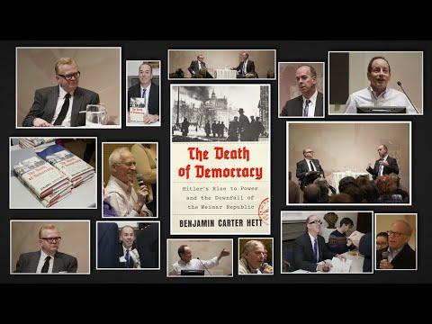 Benjamin Hett - The Death of Democracy