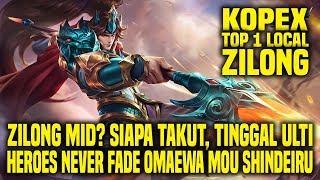 Hal Yang Gw Pelajari Dari Top 1 Local ZILONG KOPEX • Mobile Legends Indonesia