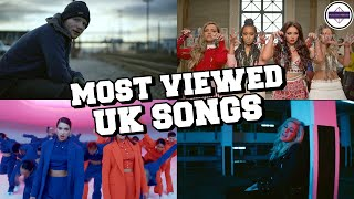 Top 100 Most Viewed Songs by UK & Irish Artists of All Time [June 2020]