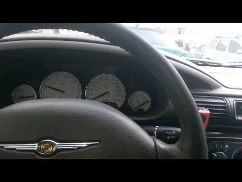 заводим машину в  -22 (Chrysler Sebring Limited)