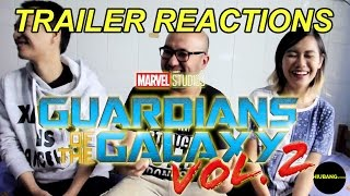 Guardians Of The Galaxy 2 - Official Teaser Trailer REACTION - Bahasa Indonesia