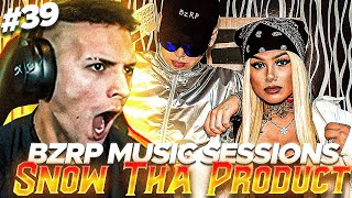 REACCIONANDO a Snow Tha Product || BZRP Music Sessions #39 + CHARLA y DESAFIO ❄️
