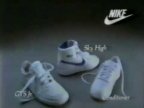80's Ads: Nike Sky High GTS Jr. Conditioner Sneakers