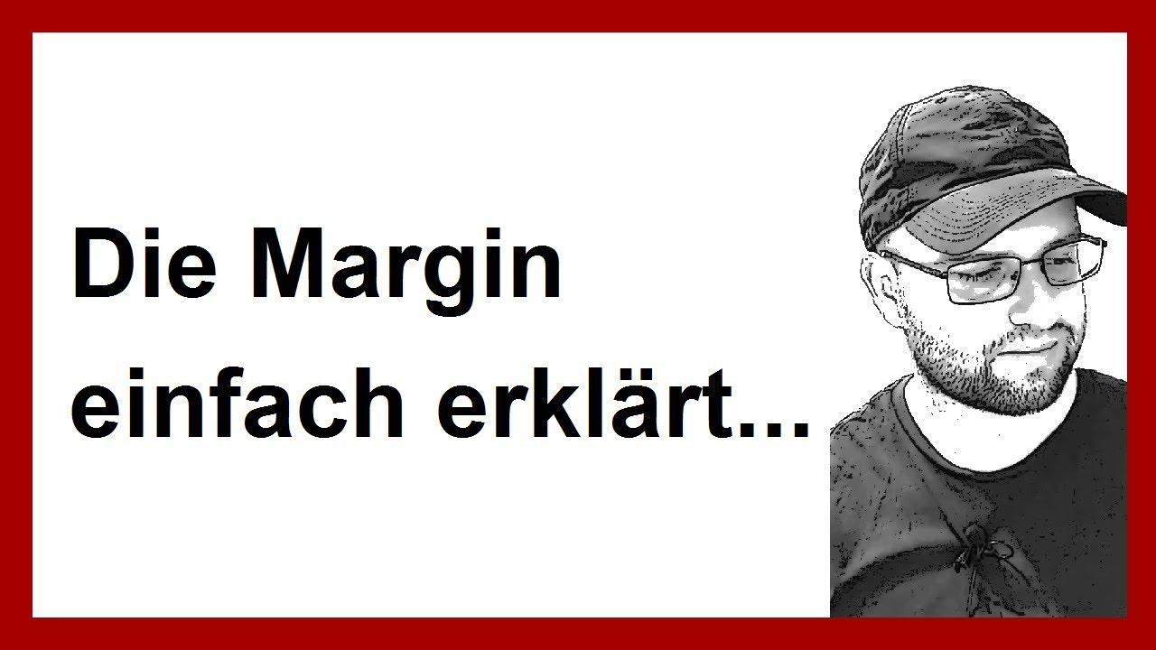 Was Ist Margin