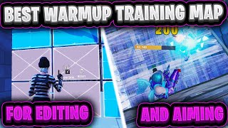 *BEST* WARMUP Editing/Aim TRAINING Map for Fortnite ($500 prize)~ Fortnite Creative Course with Code