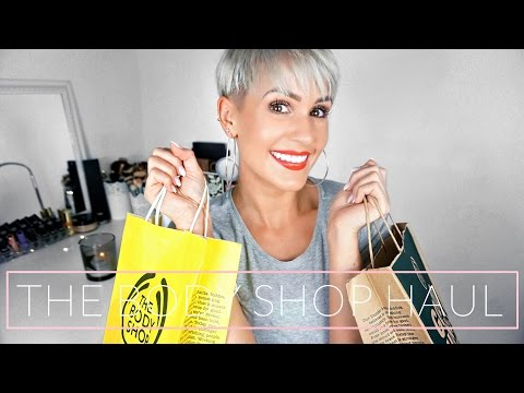 XXL THE BODY SHOP HAUL + MINI REVIEW