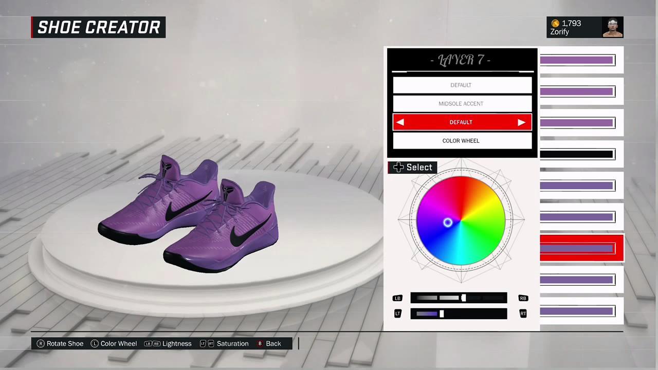 72e4a9ebca9e NBA 2K17 Shoe Creator - Nike Kobe AD