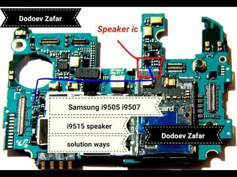 Samsung Galaxy s4 speaker ways solution - YouTube