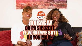 MUSE Kreyol: E117 - 10 Bagay ou Pa Sipoze Fè Lè'w Premye Soti Ak Yon Moun