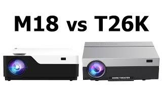Touyinger M18 vs Everycom T26K Сравнение Full HD проекторов