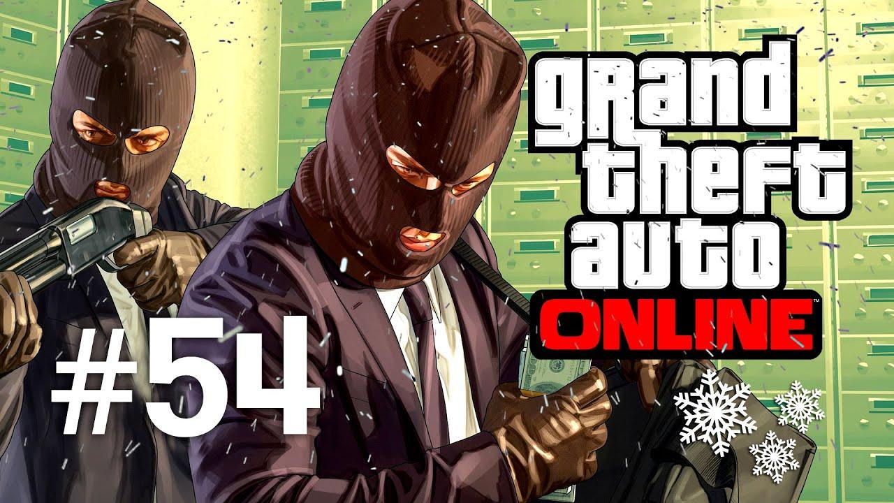 Grand Theft Auto V | Online Multiplayer | Episodul 54 (Craciun Fericit)