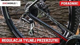 Regulacja przerzutki tylnej w rowerze