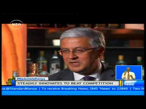 Interview with Diageo CEO Ivan Menezes on alcohol beverage market