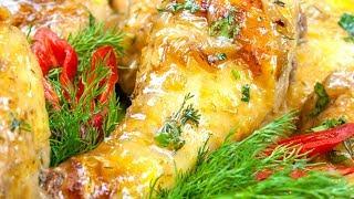 Вкусное горячее блюдо на Новый Год - Куриные ножки в пикантном соусе!