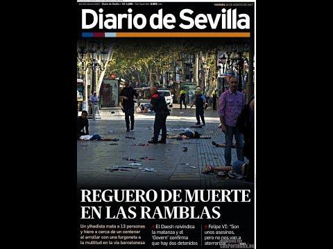 #Noticias Viernes 18 Agosto 2017 Titulares Portadas Diarios Periódicos España Spain #News