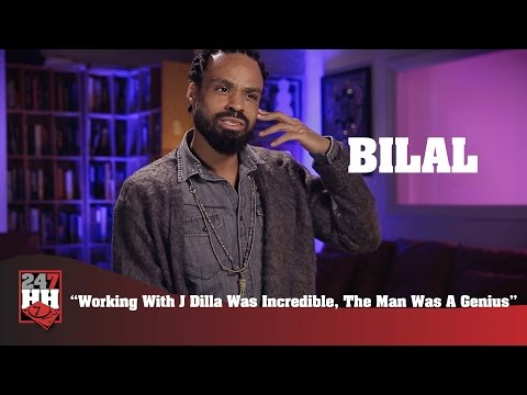 Bilal - Working With J Dilla Was Incredible, The Man Was A Genius (247HH Exclusive)