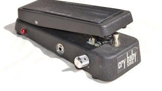 Dunlop Crybaby 535Q - A No Bare Feet Wah Pedal Demo!