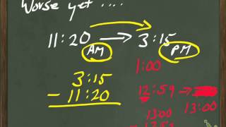 Course 1 Lesson 4-7, Elapsed Time (Borrowing Part II)