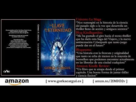LLDLE - Novela La llave de la eternidad - Thriller sobre Nikola Tesla - Gorka E. Argul