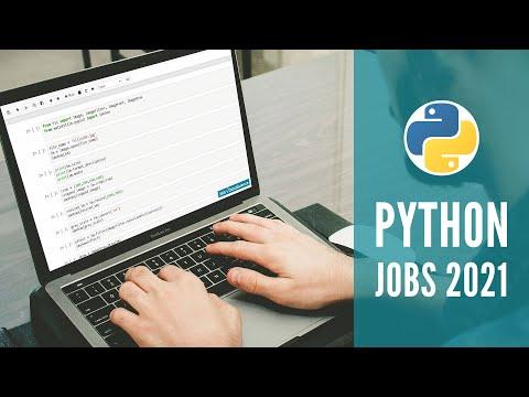 Python Jobs to Pursue in 2021