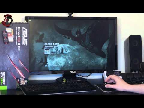 ASUS NVidia GTX 660Ti OC Benchmark