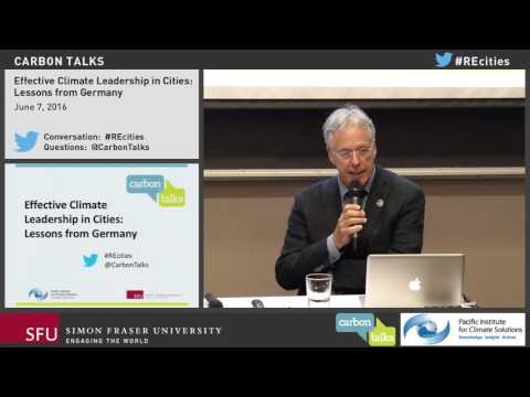 Effective Climate Leadership in Cities: Lessons from Germany
