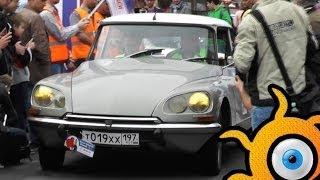 Citroen ID 19 - the legend from 1958 in Moscow!(Автомобиль использовался для официальных поездок президента Франции Шарль де Голя! Citroën ID19 — первый серий..., 2014-06-17T19:48:39.000Z)